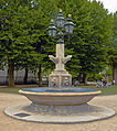Fountain at Old Royal Naval College, Greenwich, London.jpg