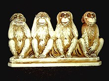 https://upload.wikimedia.org/wikipedia/commons/thumb/d/dc/Four_wise_monkeys.jpg/220px-Four_wise_monkeys.jpg