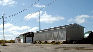 Foymount, Ontario - Former CFS base