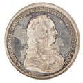 Framsida av medalj med bild av Carl Gustaf Wrangel i profil - Skoklosters slott - 99359.tif