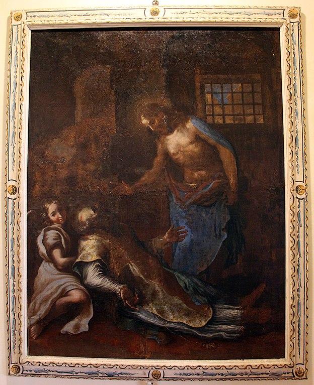 File francesco nasini morte di un vescovo con apparizione - Successione morte di un genitore ...