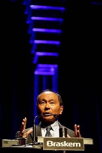 Johan Skytte Prize in Political Science - Image: Francis Fukuyama no Fronteiras do Pensamento São Paulo (27510147783)