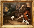 Francis barlow, scimmie e cani che giocano, 1661.jpg