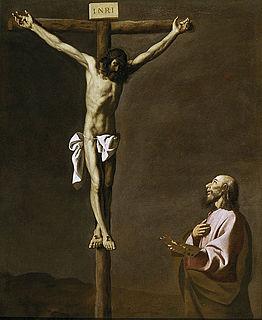 <i>Saint Luke Painting the Crucifixion</i> painting by Francisco de Zurbarán