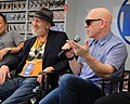 Frank Miller and Brian Michael Bendis at SXSW 2018 (25887391547).jpg