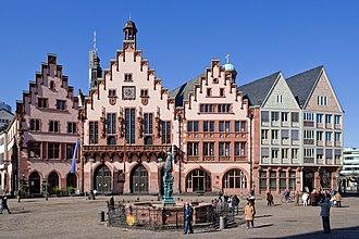 Römer - The Römers famous eastern facade