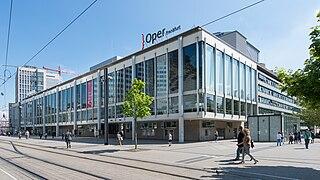 Oper Frankfurt Opera companies in Frankfurt, Germany