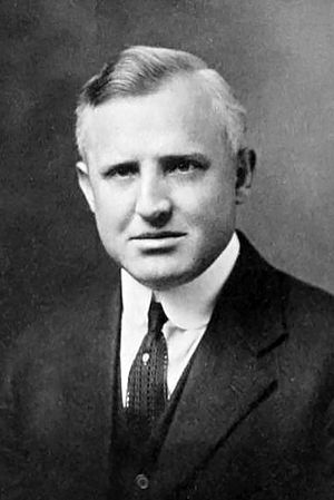Franklin S. Harris - Harris pictured in The Banyan 1923, BYU yearbook