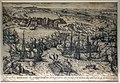 Frans hogenberg, album di stampe con battaglie di carlo V in africa (da jan cornelisz. vermeyen), caduta di goletta, 1570 ca. (madrid, bibl. nacional de españa).jpg