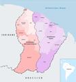 Französisch-Guayana Arrondissement 2018.png