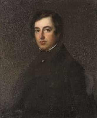 Frederick Knight (politician) - Portrait of Frederic Winn Knight (1812-1897) as a young man, English School, sold by the Sebright Educational Foundation at Christie's South Kensington, 8 January 2008