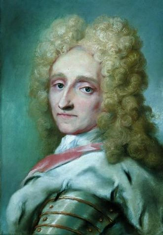 Frederick IV of Denmark - Portrait by Rosalba Carriera, 1709