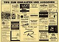 Freiburger Kinoprogramm vom Juni 1993, Rückseite mit Werbung.jpg