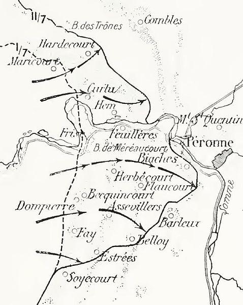ataque francés Somme