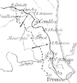 French and British advances on the flanks Combles, 3-9 September 1916.png