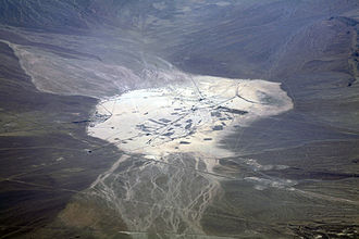 Frenchman Flat - The dry lake of Frenchman Flat