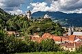 Friesach Petersberg Burg und Peterskirche SO-Ansicht 04092017 0747.jpg