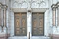 Front doors, Sacred Heart Cathedral, Newark.jpg