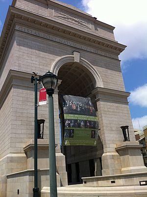 Millennium Gate Museum - Image: Front of Millennium Gate