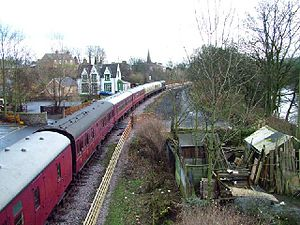 Frosterley - Image: Frosterley Station and Xmas Special geograph.org.uk 75434