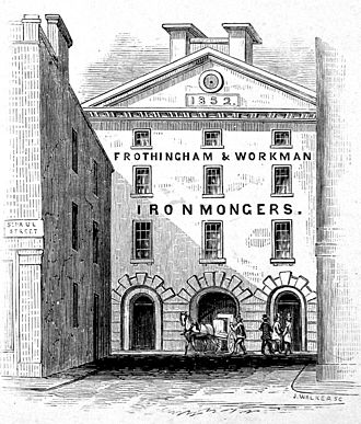William Workman - Image: Frothingham & Workman Premises