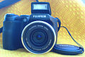 Fujifilm FinePix S5700 Digital camera black - lens.JPG