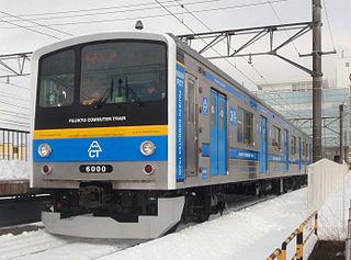 Fujikyu 6000 series Japanese train type