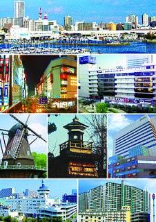 Funabashi Core city in Kantō, Japan