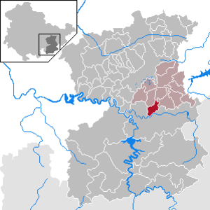 Görkwitz - Image: Görkwitz in SOK