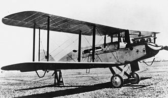Airco DH.9 - DH-9 G-AUED modified with a cabin for use as an airliner