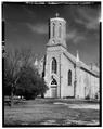 GENERAL VIEW OF ST. CATHERINE'S CHURCH, BUILT 1890 - Town of Catherine, Catharine, Ellis County, KS HABS KANS,26-CAT,1-1.tif