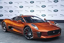 One Of The Seven C X75s Used In Film Spectre A Jaguar X75