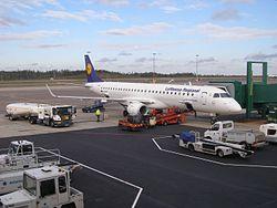 Landvetter flygplats fyller 40