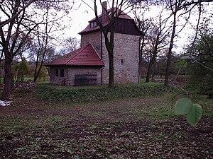 Turm der Burg Käseberg (2003)