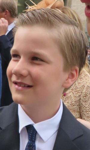 Prince Gabriel of Belgium - Prince Gabriel in 2015
