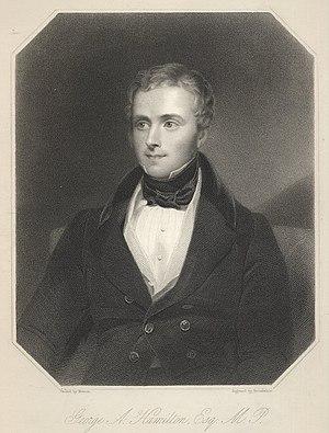 George Alexander Hamilton - G A Hamilton MP