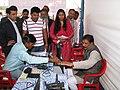 Gajendra Singh Rajukhjedi registering for his Aadhaar card at a Aadhaar registration counter during the Bharat Nirman Jan Soochna Abhiyaan, organised by PIB Indore, at Manawar, Madhya Pradesh on February 26, 2014.jpg