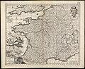 Galliae seu Franciae tabula, qua omnes provinciae, via angiariae, et aliae res notatu dignae distincte et accurate ostendatur (8342505067).jpg