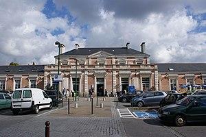Gare de Quimper - Quimper railway station entrance