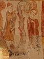 Gargilesse-Dampierre (36) Église Saint-Laurent et Notre-Dame Crypte Fresques 21.JPG