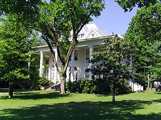 National Register of Historic Places listings in Drew County, Arkansas - Image: Garvin Cavaness House 002