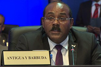 Gaston Browne - Browne at the 7th Summit of the Americas