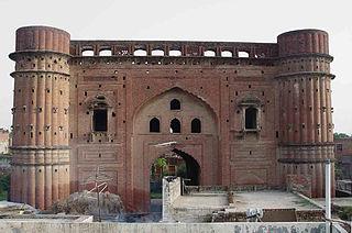 Gharaunda city in Haryana, India