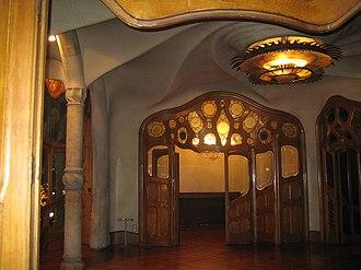 Josep Maria Jujol - Casa Batlló, his first project with Antoni Gaudí.