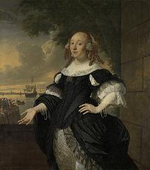 Geertruida den Dubbelde (1647-84), wife of Aert van Nes