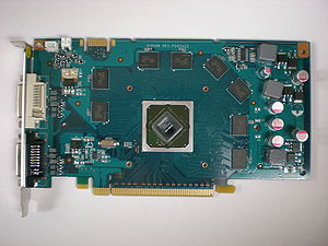 GeForce 9 series - GeForce 9600 GT with cooler removed