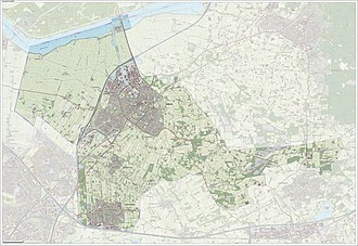 Nijkerk - Dutch Topographic map of Nijkerk, June 2015
