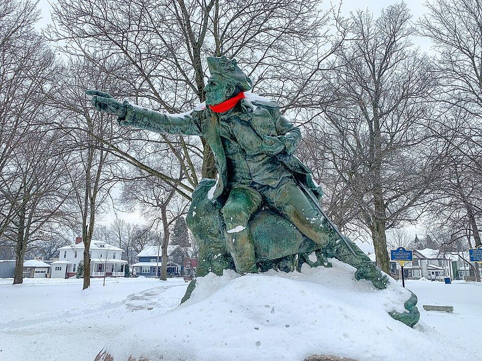 General Herkimer Monument, Myers Park Herkimer NY