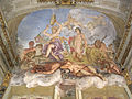 Genova, palazzo reale, affresco del trionfo di bacco di g.b. e g.andrea carlone.JPG