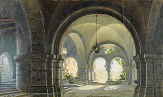 View of the Cloister Garden
